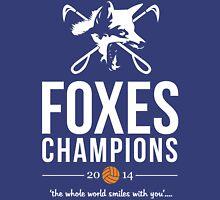 FOXES CHAMPIONS 2014 CLEAN PRINT Unisex T-Shirt