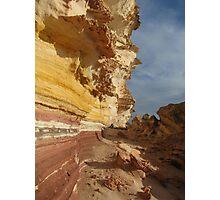 rainbow cliffs Photographic Print