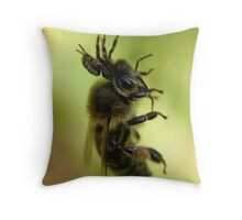Suspended Fight Throw Pillow