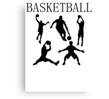 Basketball Canvas Print