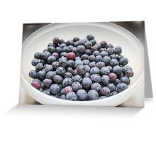 Blueberry Perfection Greeting Card