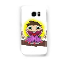 Clever breakfast Samsung Galaxy Case/Skin