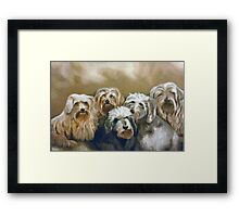 Party of Five Framed Print