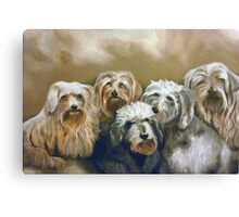 Party of Five Canvas Print