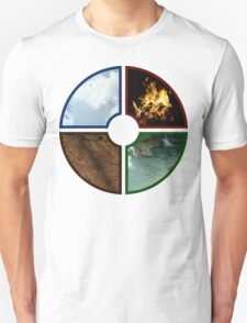 4 traditional Elements Unisex T-Shirt