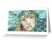 Winter Queen - Call Me January Greeting Card