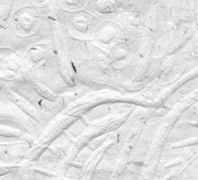 'Forest Floor' - Detail Section (Embossed Print)  Sticker