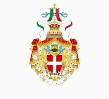 Coat of Arms of Kingdom of Italy  Unisex T-Shirt