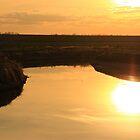 Sunset For Britani by Brenda Dahl