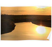 Sunset For Britani Poster