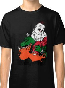 Sit Down and Shut Up Artwork in Color (textless) Classic T-Shirt