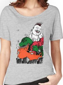 Sit Down and Shut Up Artwork in Color (textless) Women's Relaxed Fit T-Shirt