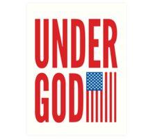 Under God Art Print