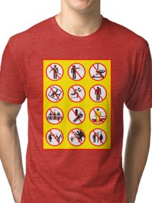 Prohibited Movies Tri-blend T-Shirt