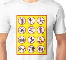 Prohibited Movies Unisex T-Shirt