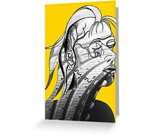 Anatomy abstract Greeting Card