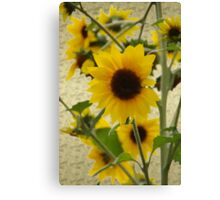 Wildflowers in Style  Oil Art version Canvas Print