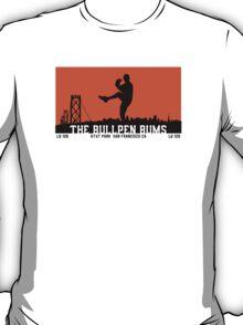 Bullpen Bums (Orange, Black and White) T-Shirt