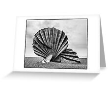 The Scallop, Aldeburgh Greeting Card