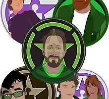 Achievement Hunter Team by FloppyNovice