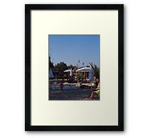 Space Beach, Berlin 2006 Framed Print