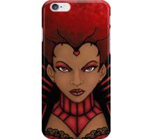 Ebony Queen of Hearts iPhone Case/Skin