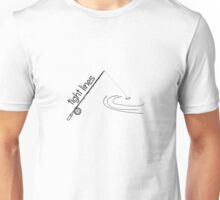 Fly fishing Tight Lines Unisex T-Shirt