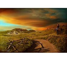 Colorado Series, Part 1 - Rush Hour Photographic Print