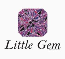 Little Gem, Purples Kids Tee