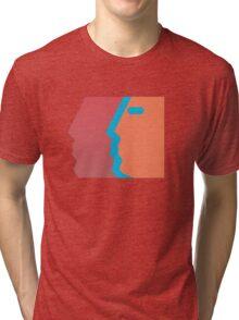 Com Truise, The Decay album cover. Tri-blend T-Shirt