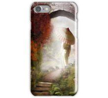 Meditation Garden iPhone Case/Skin