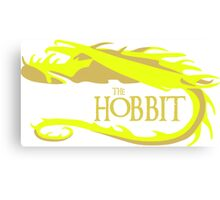 Gold Smaug Canvas Print