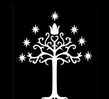 White Tree of Gondor by arashianemu