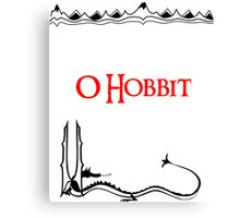 The Hobbit - Smaug 2 Canvas Print