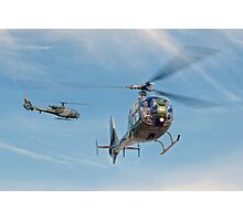 Royal Marines Gazelles Photographic Print