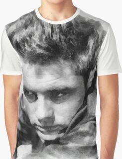 James Dean by John Springfield Graphic T-Shirt