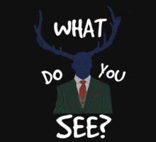 what do you see? wendigo/hannibal by FandomizedRose