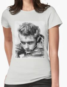 James Dean by John Springfield Womens Fitted T-Shirt