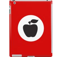 German Apple Front (Front Deutscher Äpfel) iPad Case/Skin