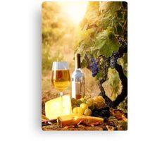 Vineyard Luncheon Canvas Print