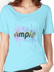 text art Women's Relaxed Fit T-Shirt