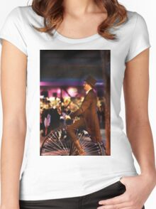 16th Street Surrealism  Women's Fitted Scoop T-Shirt