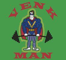 GB - Venk-Man Gym Shirt One Piece - Short Sleeve