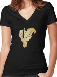 Ascension Tradition: Cult of Ecstasy Women's Fitted V-Neck T-Shirt