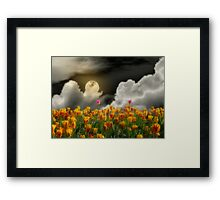 Tip Toe Through the Tulips Framed Print