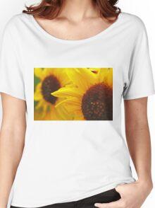 Sunflower Yellow Women's Relaxed Fit T-Shirt