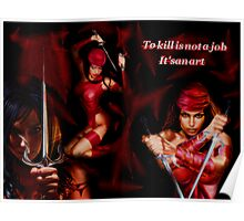 Elektra:The Art Of Killing Poster