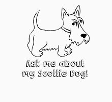 Ask Me About My Scottie Dog! Mens V-Neck T-Shirt