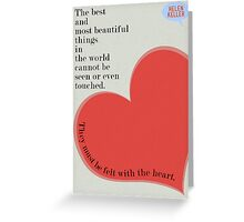 The Best and Most Beautiful... Greeting Card
