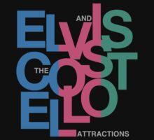 Elvis Costello (Black) by CaptainBaloney